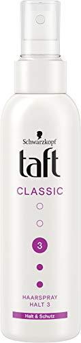 Taft Haarspray-Pump Classic Halt & Schutz Halt 3, 2er Pack, 150 ml