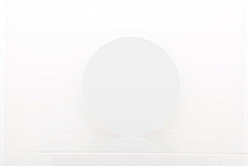 DEGRENNE - Modulo lot de 6 assiettes plate ronde 29 cm , porcelaine - Blanc