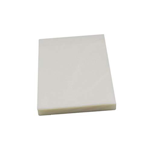 Artibetter - Confezione da 200 fogli di carta termica per plastificare documenti e fotografie Größe 7 bianco