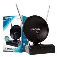 Antena Interna para TV Aquario TV-500 4 em 1 VHF/UHF/FM e HDTV Digital