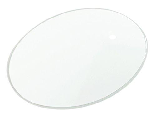 Minott MD -> Ersatzglas 0,7mm -> Mineralglas rund gewölbt dünn -> Uhrenglas Mineral -> 34323, Durchmesser Ø:278-27.8 mm