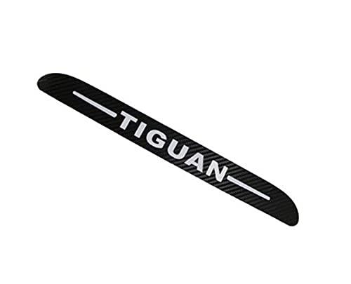 Fibra de carbono luz de freno decoración pegatina para Volkswagen Tiguan 2010 2011 2012 cubierta de luces de freno para Vw Tiguan 2013 2014-2017