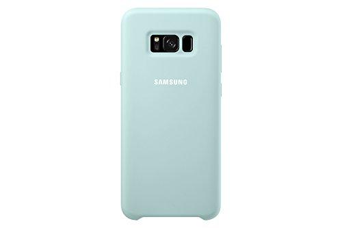 Samsung Silicone, Funda para smartphone Samsung Galaxy S8 Plus, Azul