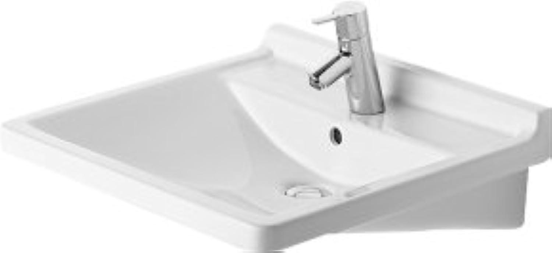 Duravit Waschtisch Starck 3 Vital 600 mm, mit 3 Hahnlcher, wei, 0309600030