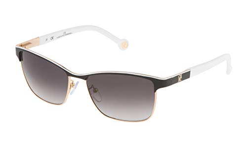 Carolina Herrera SHE069560NP1 Gafas de sol, Negro, 56 para Mujer