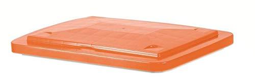 UvV Deckel orange für Mörtelwannen ohne Kranösen (mit Randverstärkung)