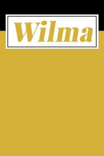 Wilma: Personalized Sketchbook with Name Wilma | Drawing Sketch Book/ Workbook Gifts for Wilma
