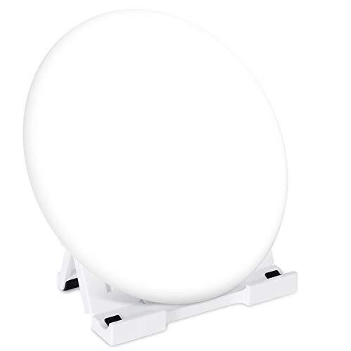 Lámpara Fototerapia 10000 Lux Bozily, Luz de Terapia Ultra Brillante Sin UV per Depresión Estacional con 3 Colores y 5 Brillo Ajustables Luz 3 Configuraciones de temporizador