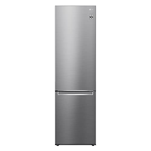 LG GBB62PZGFN Frigorifero Combinato Total No Frost con Congelatore, 384 L, 36 dB, Compressore Lineare Inverter, Linear Cooling, Door Cooling, Fresh Converter - Frigo con Freezer e Display LED Interno