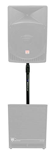Rockville GASPOLE-A Gas Powered Air Assist Subwoofer to Speaker Pole Mount Stand