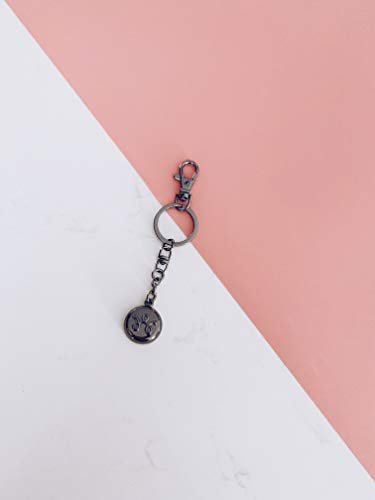 invisawear Smart Jewelry - Personal Safety Device - Black Keychain