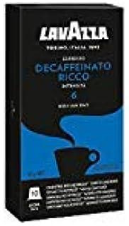 300 capsule caffè Lavazza compatibili NESPRESSO DECAFFEINATO RICCO + BELLISSIMA TAZZA IN REGALO
