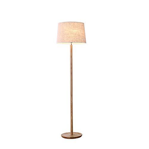 YS & VV eenvoudige vloerlamp van rubber 40W vloerlamp, nachtlampje op bed, voor slaapkamer, woonkamer, werkkamer, staande lamp, LED tafellamp, E27 × 1, grootte: 40 × 40 × 155 cm