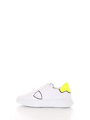 Philippe Model Sneakers BTLU Bianco+Giallo Fluo Uomo MOD. BTLU 44