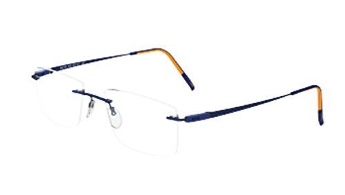 Eyeglasses Silhouette Racing Collection (5502) 4540 San Marino Blue/Orange 52/