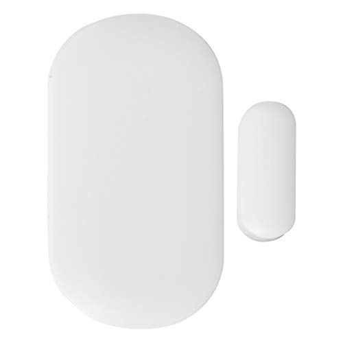 Nivian–Detector de apertura valido para puertas y ventanas compatible con alarma Nivian–Apto para interior-Inalámbrico 433Mhz - Fácil instalación sin necesidad de cables