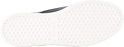 Vionic Men's Mott Brody Slip-on Sneaker with Concealed Orthotic Arch Support Black Leather 7 M US