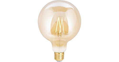 WiZ Smart LED Leuchtmittel Filament Amber G125 E27 (Smart Home, Dimmbar, 6,5W - 60W Leistung, 2200K - 5500K, lm810, App & Voice Control Alexa, Siri, Google & IFTTT)