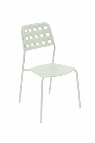EMU Chaise en acier Shot pour bar, jardin, extérieur, restaurant