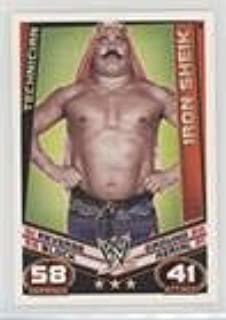 Iron Sheik (Trading Card) 2012 Topps WWE Slam Attax Rebellion - [Base] #134