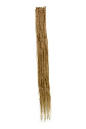 1 Clip Extension avec mèches lisses, blond clair cendré YZF-P1S18-24 45cm/ 18inch Extension capillaire postiche Teinte: 24