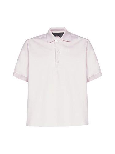 Prada Luxury Fashion Herren UJN6381V3HF0028 Rosa Baumwolle Poloshirt | Frühling Sommer 20