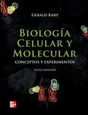 Biologia Celular Y Molecular May 03 2016 Karp Gerald