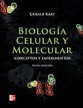 Biología Celular y Molecular: Amazon.es: Karp Gerald: Libros