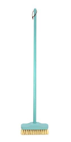 REDECKER(レデッカー)『植物繊維毛のデッキブラシ ミントブルー』