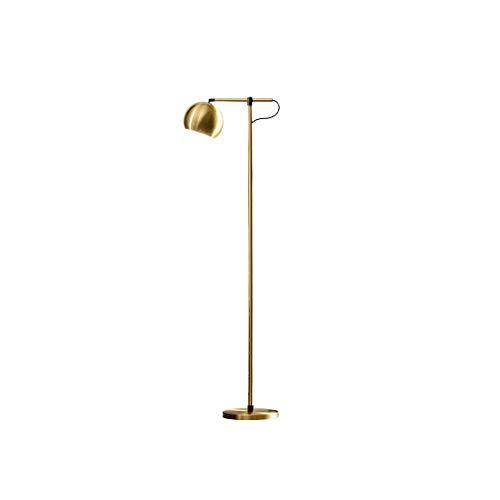 Helele staande lamp met voet, metaal, moderne industriële stijl, voor kantoor, eetkamer, woonkamer E27/1 × max. 60 W.