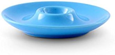 Preisvergleich für Friesland Porzellan Eierbecher/Eierteller 13cm Happymix ?Azurblau
