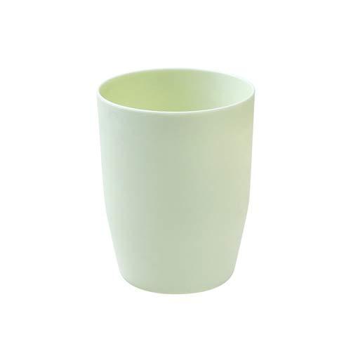 FHC Tasse de Brosse Coupe, Tasse Lavage Plat Dents de Brosse à Dents de Voyage,Green