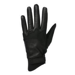 EQUITHEME Gants Soft Cuir - Couleurs - Noir, Taille Française - XL