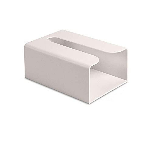 prosfalt Kleenex Tissue Box Holder Dryer Sheet Dispenser Rectangular Adhesive Wall Mount Cover Drawer Toilet Paper Holder Tissue Storage Box Bathroom