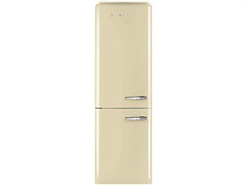 Smeg FAB32LP1 Independiente 311L A++ Crema de color nevera y congelador - Frigorífico (321 L, SN-T, 41 dB, 10 kg/24h, A++, Crema de color)