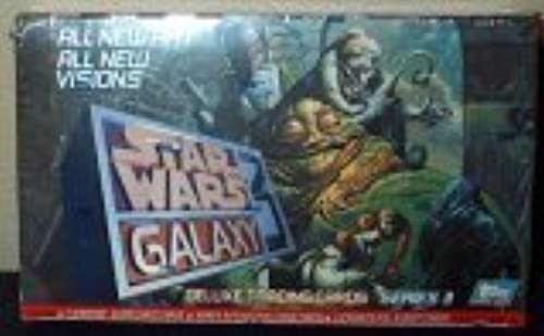 Topps Star Wars Galaxy 3 Deluxe Sammelkarten Serie III Box, 36 Stück