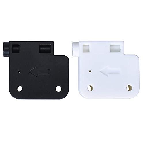 Hochwertiges Druckerzubehör Neues Modul zur Erkennung von Filamentbrüchen für 1,75-mm-Extruder-Rundlauf-Materialdetektor 3D-Druckerteile CR10 J-Head PLA ABS 3D-Druckerteile (Farbe: Schwarz, Größe: 2 S