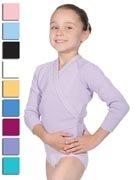 """Roch Valley Acrylic Crossover Cardigan 26"""" Lilac"""
