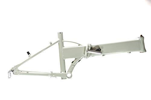 20 Zoll Aluminium Falt Rahmen Klapp E Bike Fahrrad Rahmen grau Rh 32cm B-Ware