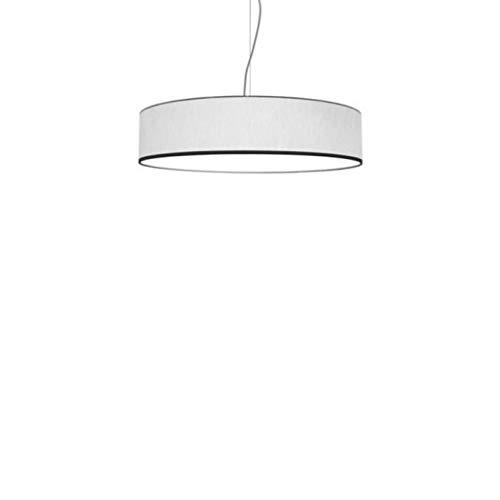 Lampadario a Sospensione Moderno Roary Slim Made in Italy ideale per case moderne diametro 50 di colore Bianco - Olux Illuminazione