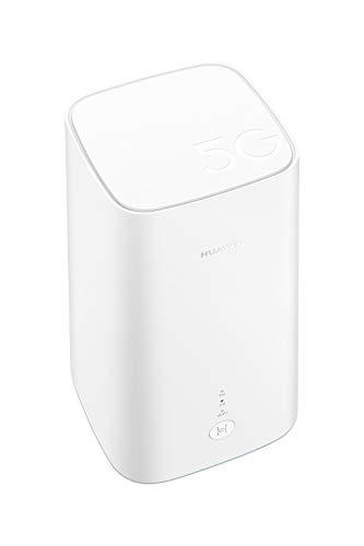 Huawei 5G CPE Pro, SmartHome 5G Dual-Band-WLAN, ultraschnelle Verbindung in mittelgroßen Haushalten, Unternehmen/Reiseheimen. Verbindet 64 Geräte, App für vollständige Kontrolle und 2 Jahre Garantie