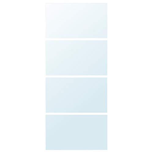 AULI 4 paneler för skjutdörr 100 x 236 cm spegelglas