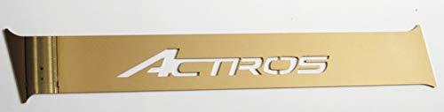 TRUCKDANET Zubehör aus Edelstahl INOX für LKW Actros MP4, Seitenprofil Carena mit Actros Schriftzug