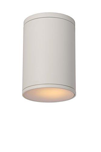 Lucide TUBIX - Spot Plafond Extérieur - Ø 10,8 cm - IP54 - Blanc