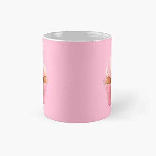 2 Broke Girls - Cupcake Cream Filled Variant Two Classic Mug Birth-day Holi-day Gift Drink Home Kitchen