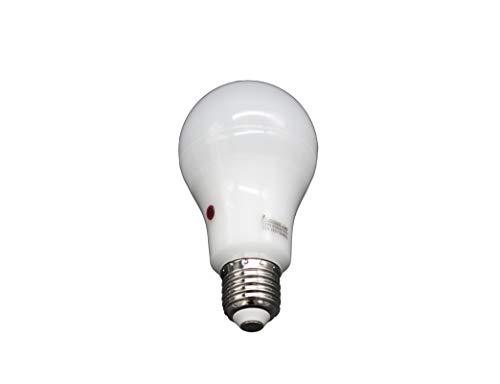 Lampada standard a LED con sensore crepuscolare E27, 12 W 4000K
