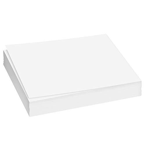 A4 weißes Papier, zum Kopieren, Drucken, Schreiben, 210 x 297 mm, Packung mit 250 Blatt (9,1 kg)