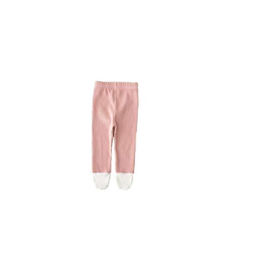 ZYCX123 Kleinkind weiche Strumpfhosen Baby-Gamaschen Baumwolle Leichtfüßig Stocking Winter Stricken warme Hosen für Neugeborene Kleinkinder 66cm Rosa Baby-Supplies