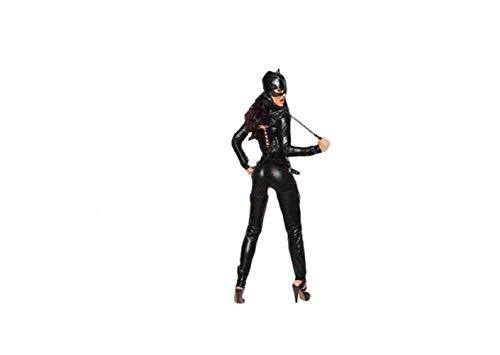 Top Totty Disfraz sexy para mujer, disfraz de gato Dominatrix, disfraz de Halloween