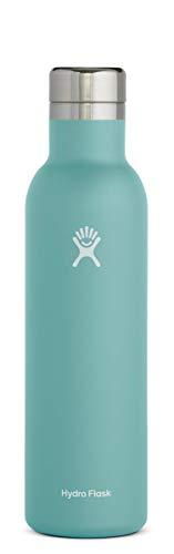 Hydro Flask 25 oz Wine Bottle - Stainless Steel & Vacuum Insulated - Leak Proof Cap - Alpine